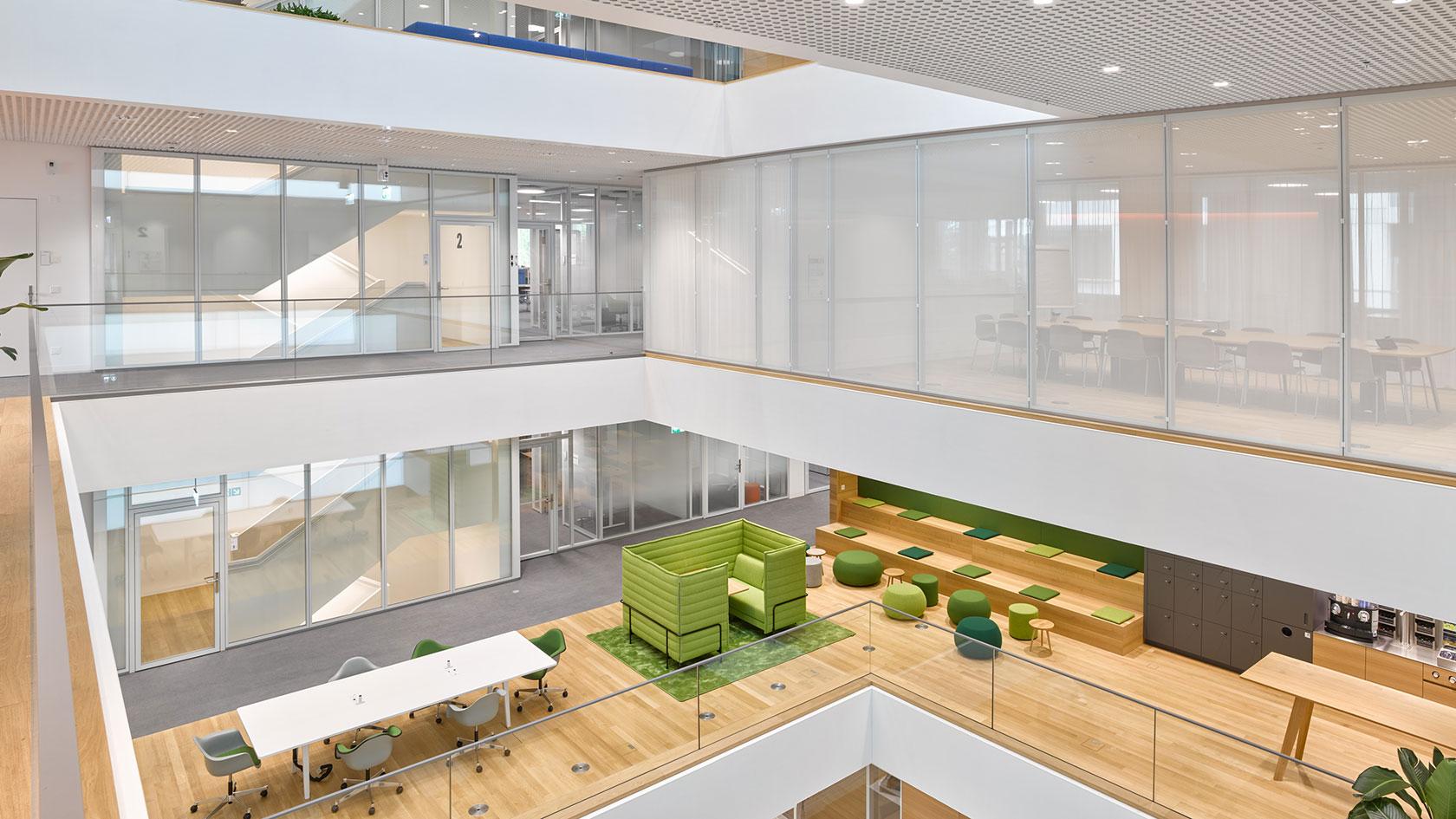 Office building, Hoffmann-La Roche AG, Kaiseraugst