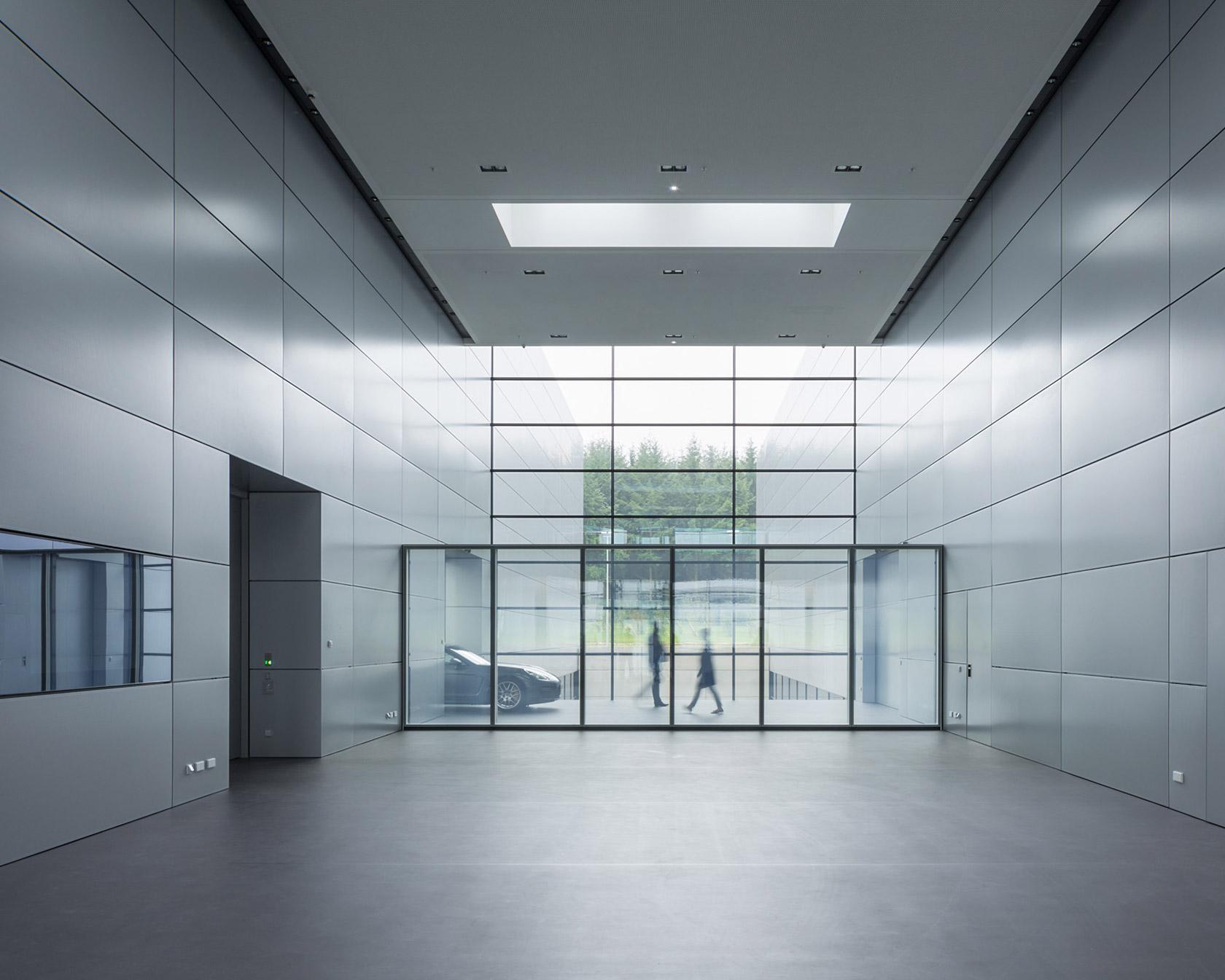 Porsche design centre, Weissach